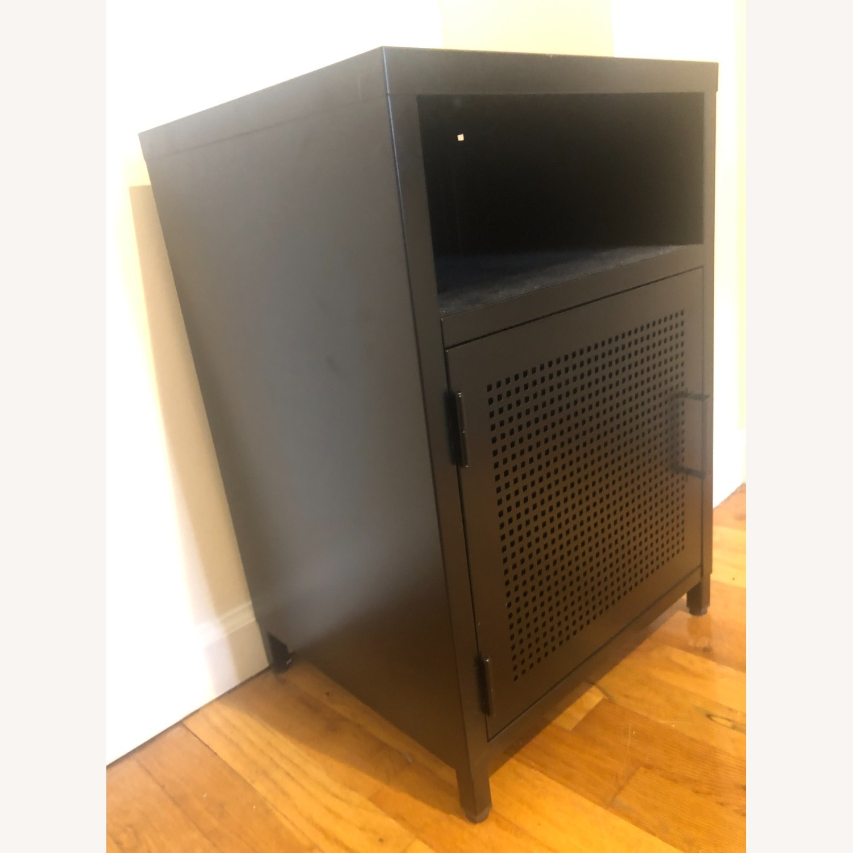 Wayfair Black Metal Cabinet - image-4