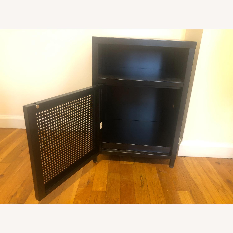 Wayfair Black Metal Cabinet - image-7