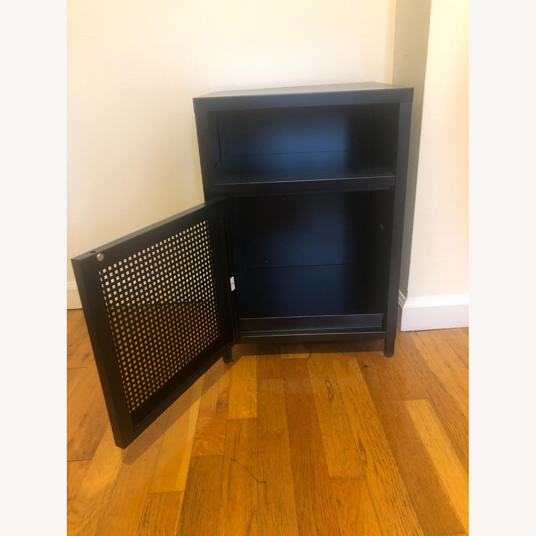 Wayfair Black Metal Cabinet - image-5