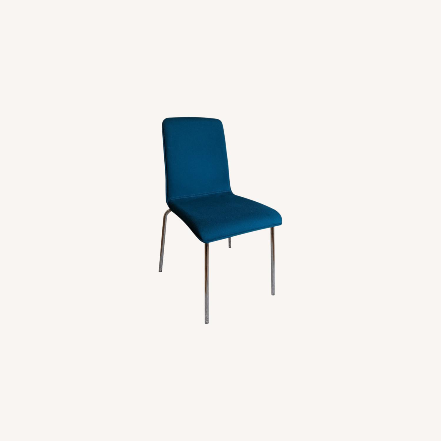 Target Blue Accent Chair - image-0