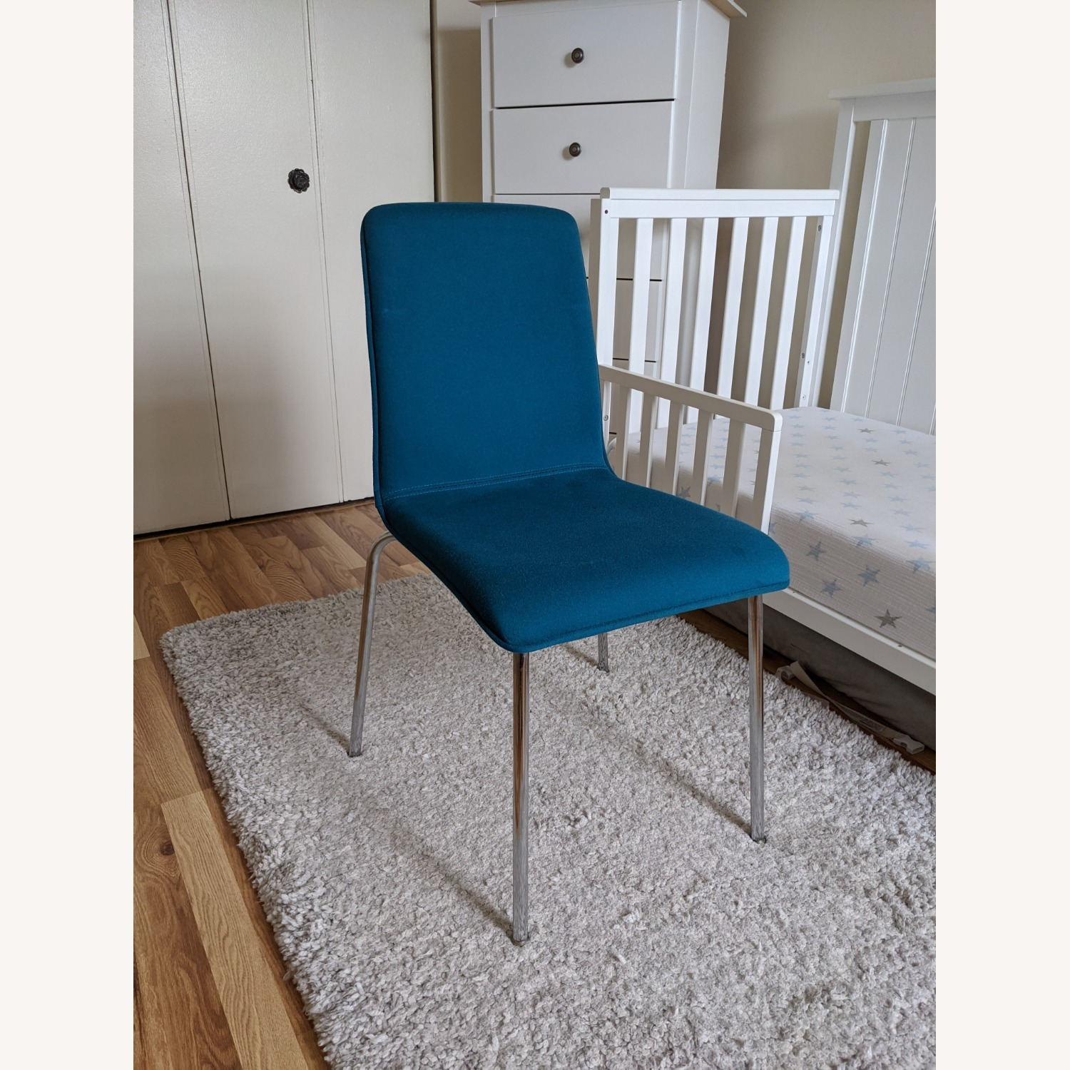 Target Blue Accent Chair - image-1