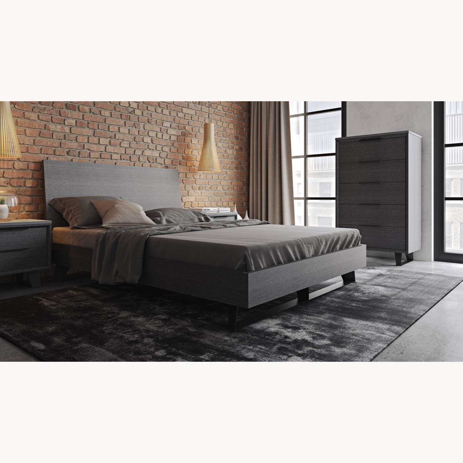 Amsterdam Queen Bed Frame - image-1