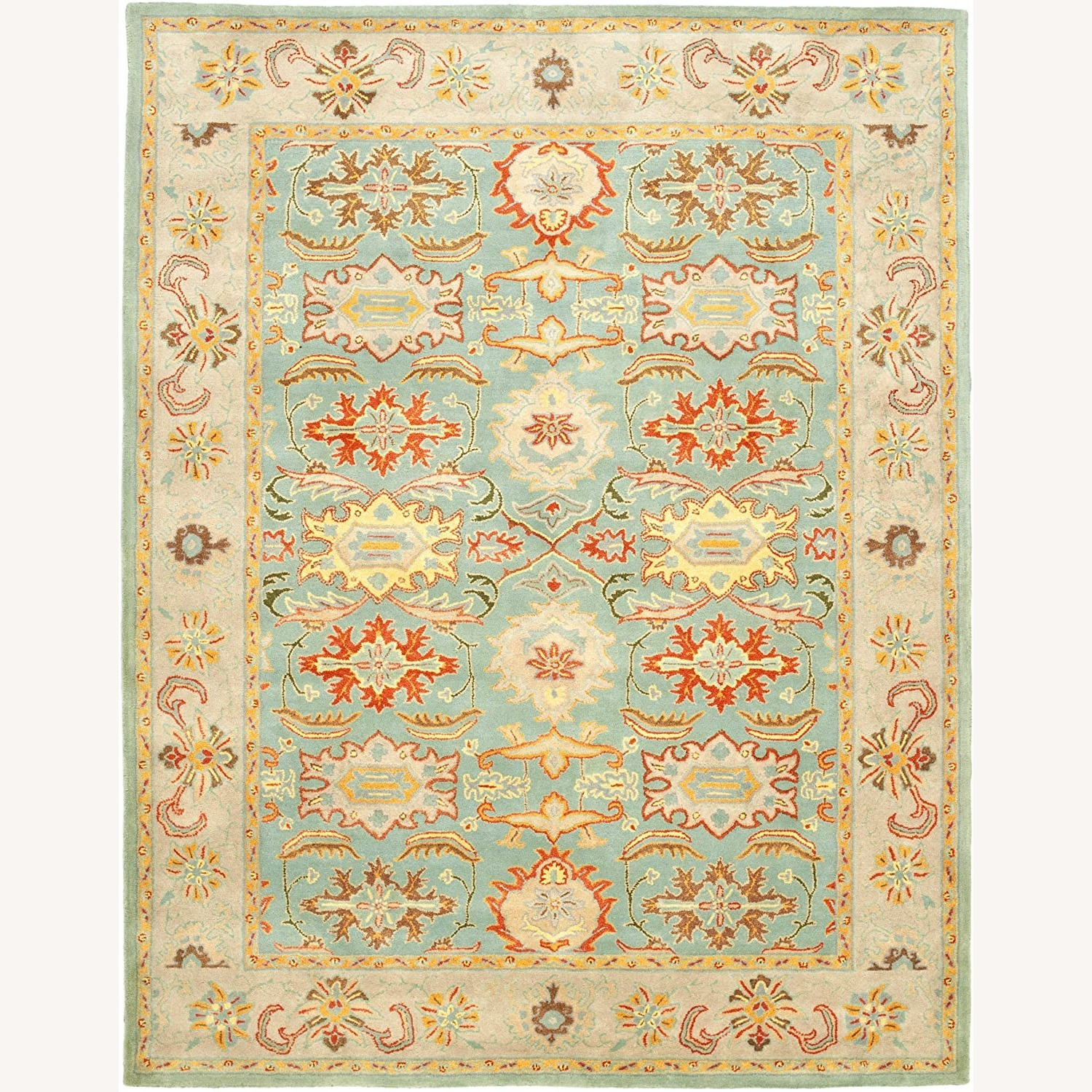 Safavieh Heritage Collection Blue Rug - image-6