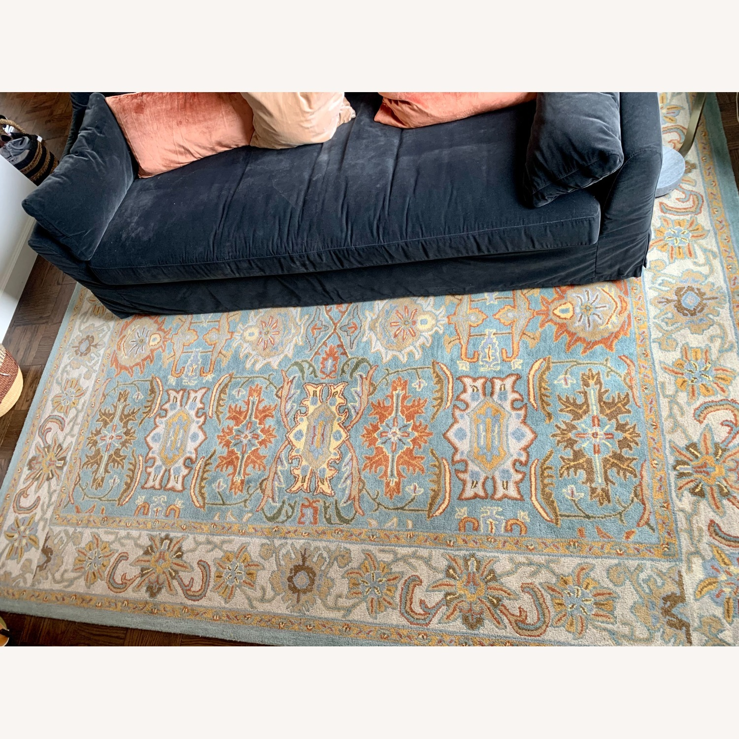 Safavieh Heritage Collection Blue Rug - image-2