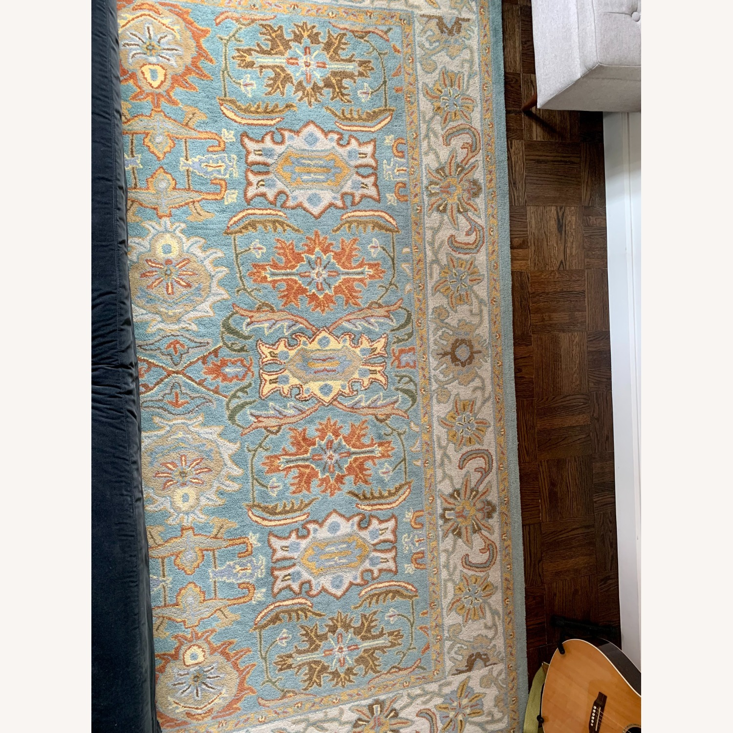 Safavieh Heritage Collection Blue Rug - image-1