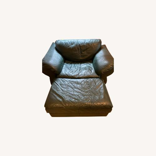 Used Large Leather Chair for sale on AptDeco