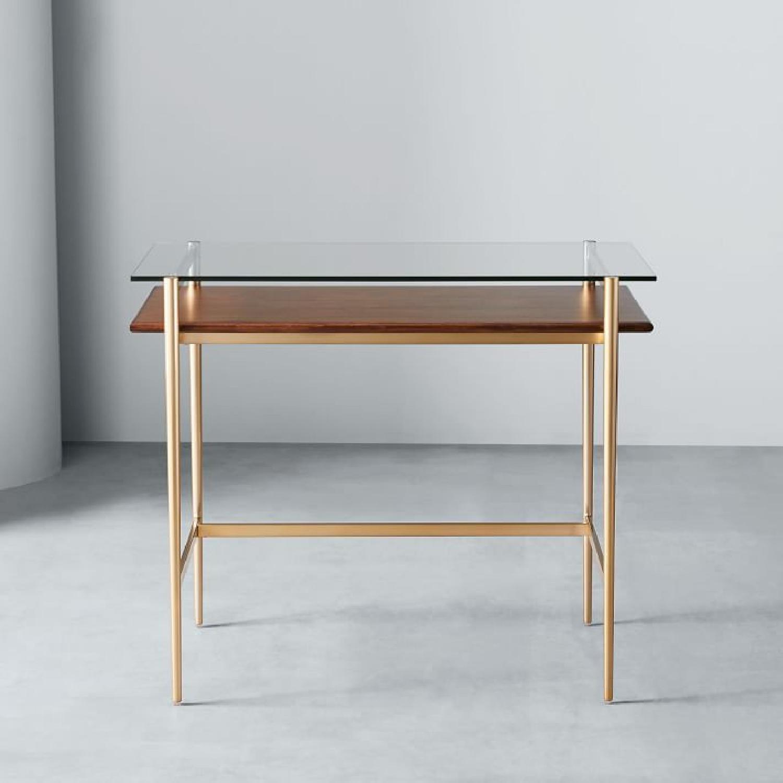 West Elm Small Mid-century Desk - image-4