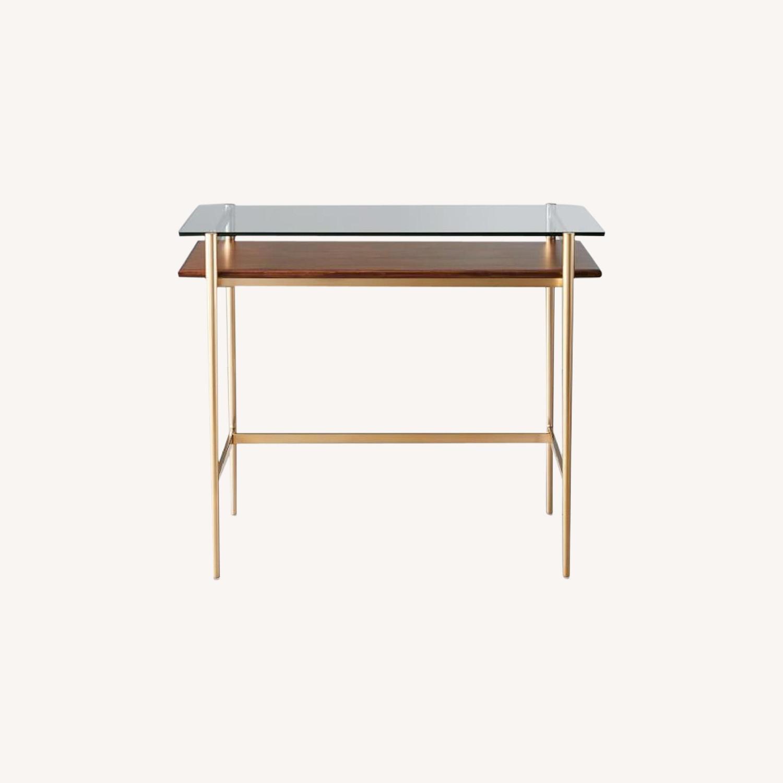 West Elm Small Mid-century Desk - image-0