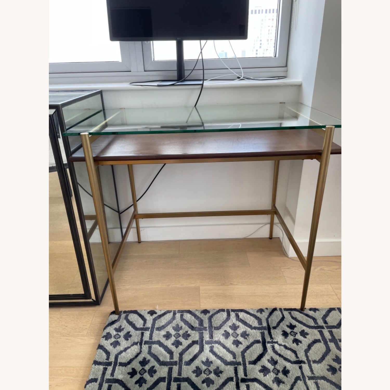 West Elm Small Mid-century Desk - image-3