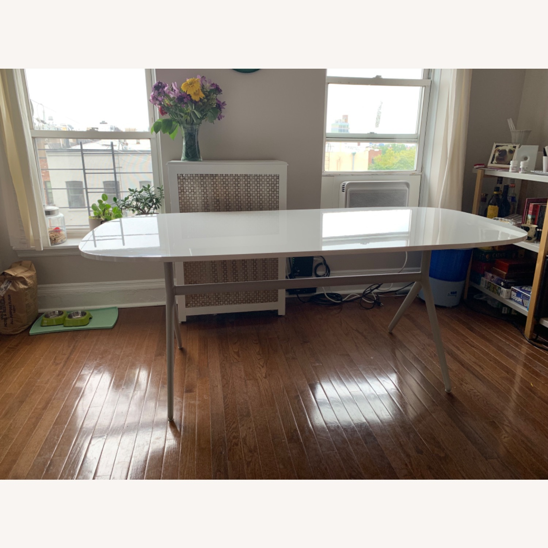 IKEA Midcentury Modern Dining Table - image-4