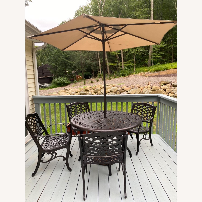 Patio Set with Umbrella - image-2