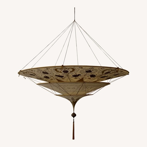 Used Fortuny Three-Tiered Chandelier for sale on AptDeco