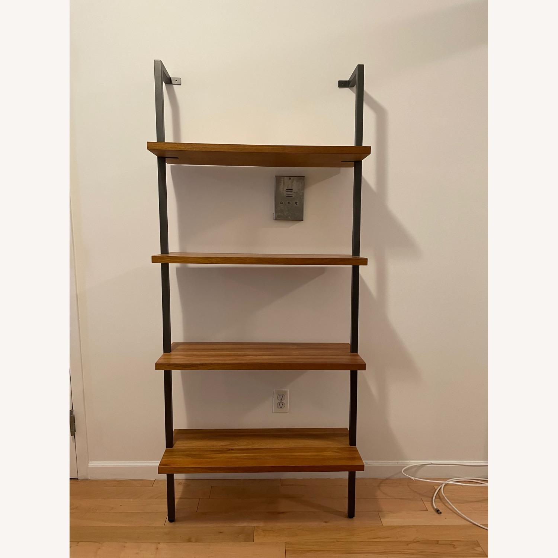 CB2 Hellix Walnut Bookcase - image-2