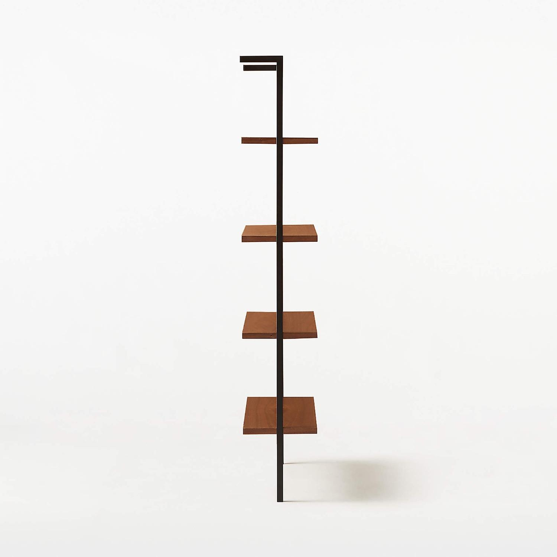 CB2 Hellix Walnut Bookcase - image-3