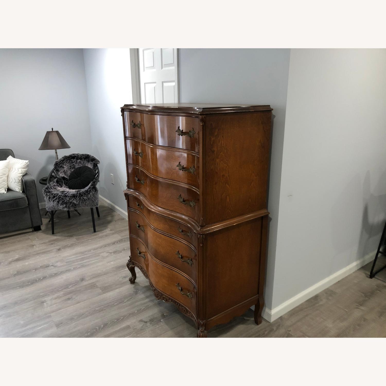 Vintage Solid Wood Dresser - image-3