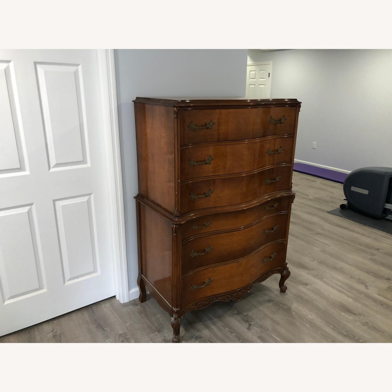 Vintage Solid Wood Dresser - image-2