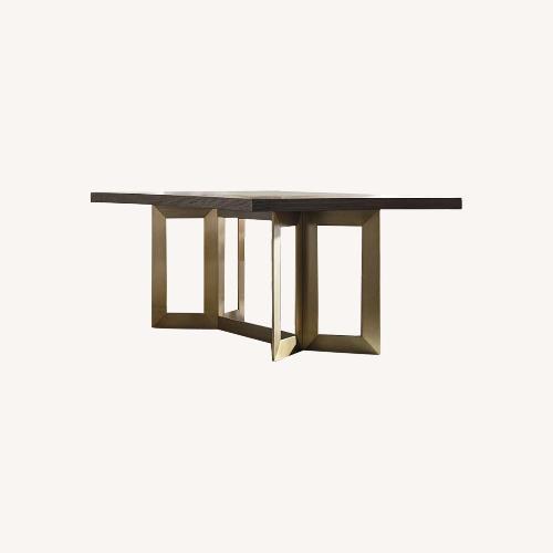 Used Bassett Astor Rectangle Dining Table for sale on AptDeco