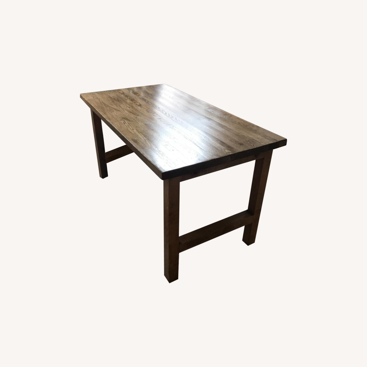 ABC Carpet and Home Reclaimed Wood Dining Table - image-0