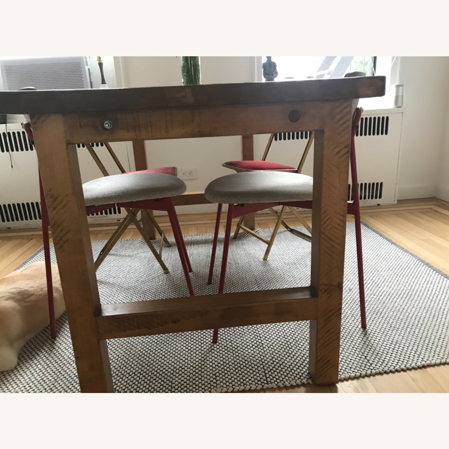 ABC Carpet and Home Reclaimed Wood Dining Table - image-3