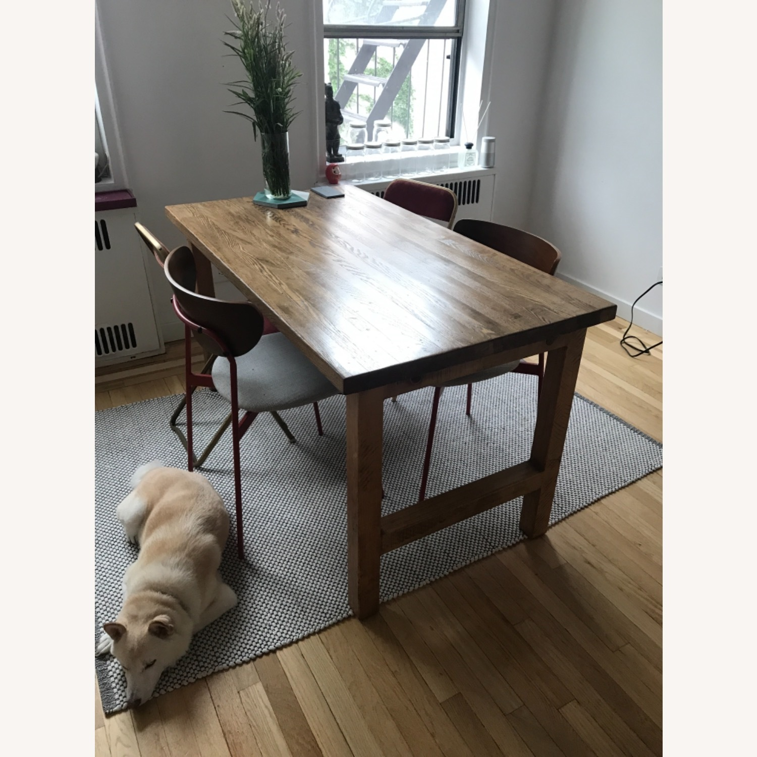 ABC Carpet and Home Reclaimed Wood Dining Table - image-1