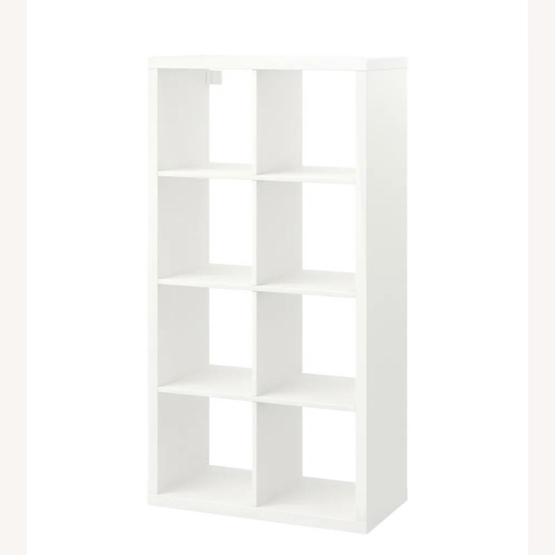 IKEA White Kallax Shelf Unit - image-1