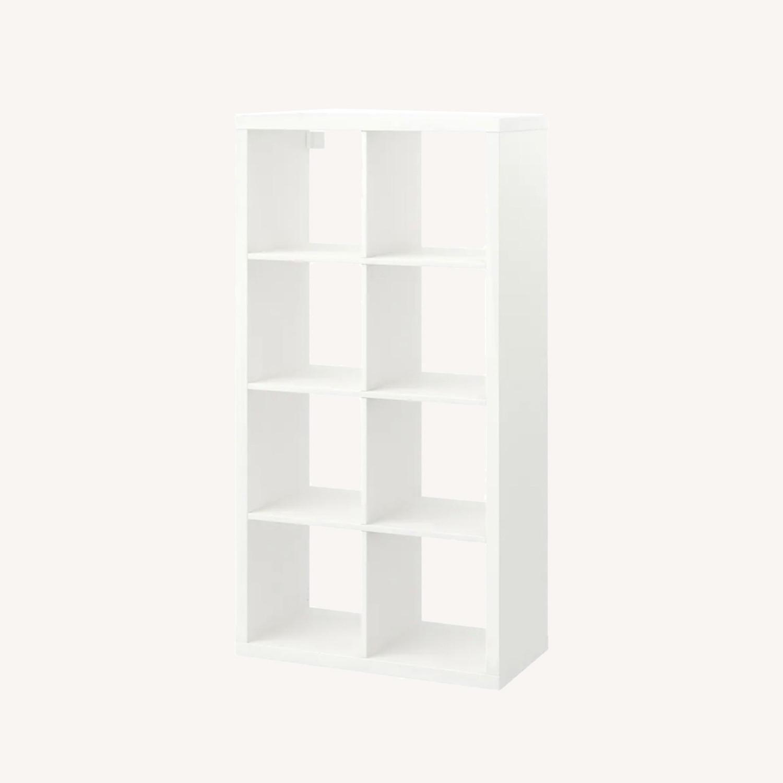 IKEA White Kallax Shelf Unit - image-0