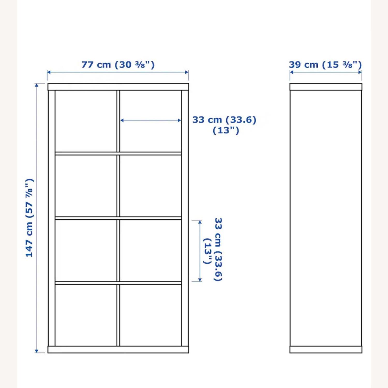 IKEA White Kallax Shelf Unit - image-3