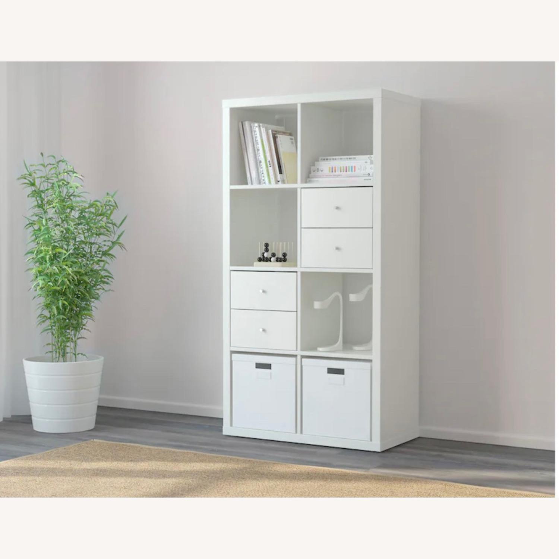 IKEA White Kallax Shelf Unit - image-2