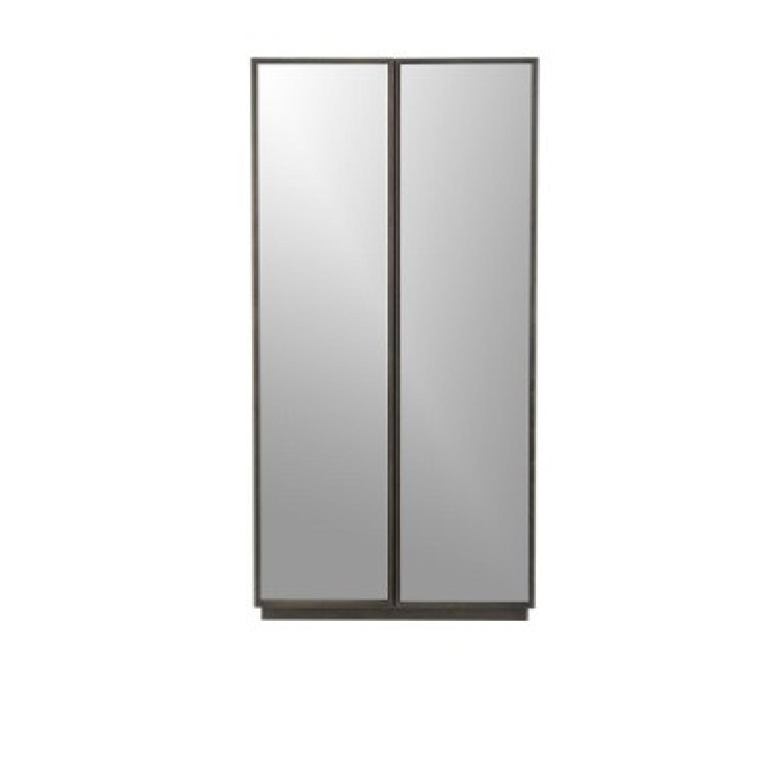 CB2 Reflections Mirrored Armoire - image-9