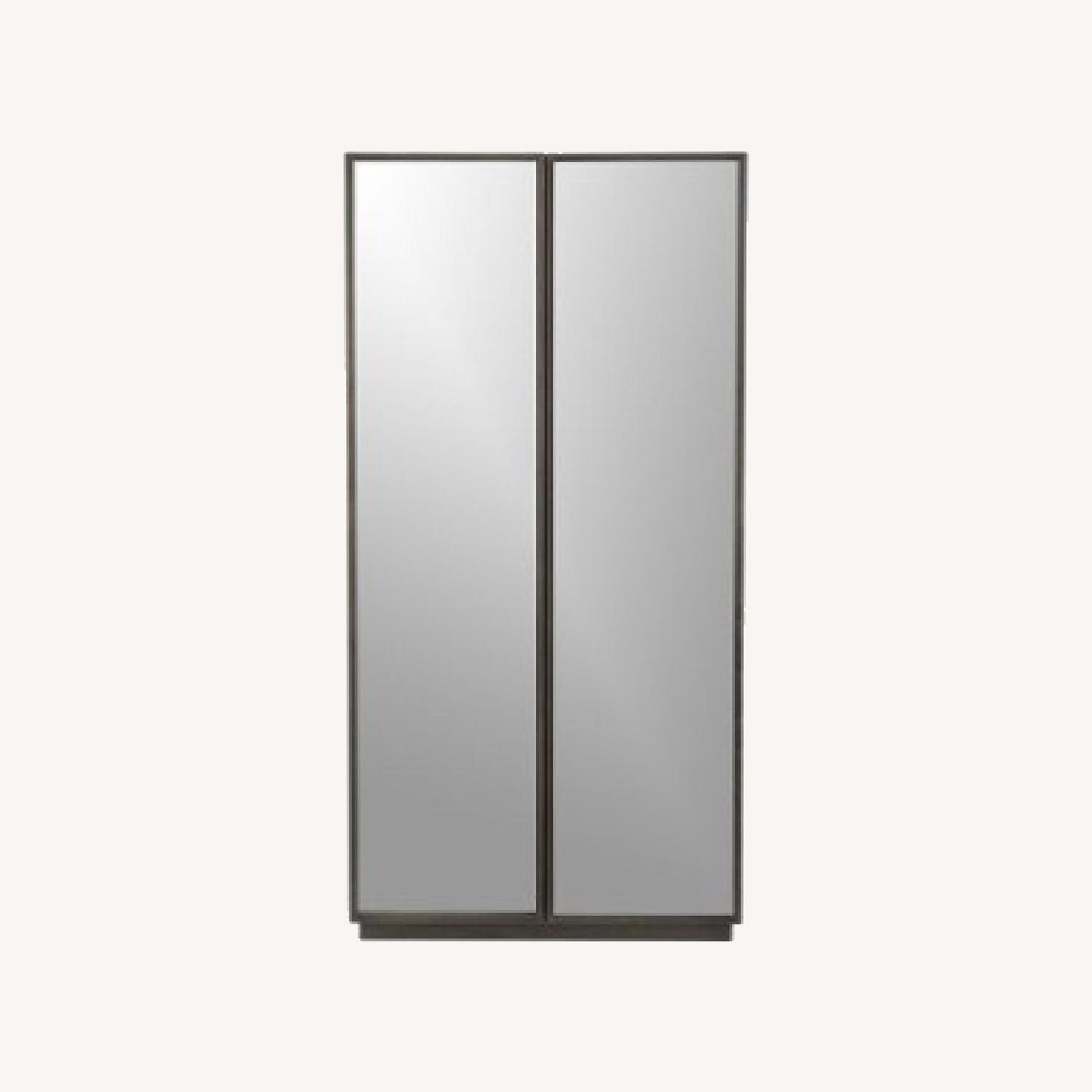 CB2 Reflections Mirrored Armoire - image-0
