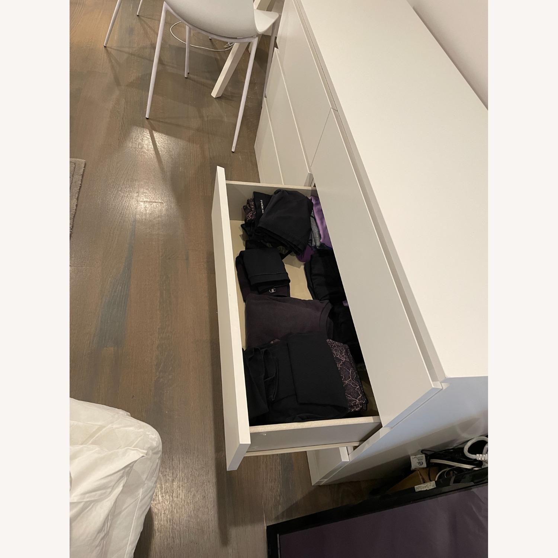 IKEA White 6 Drawer Dresser - image-4