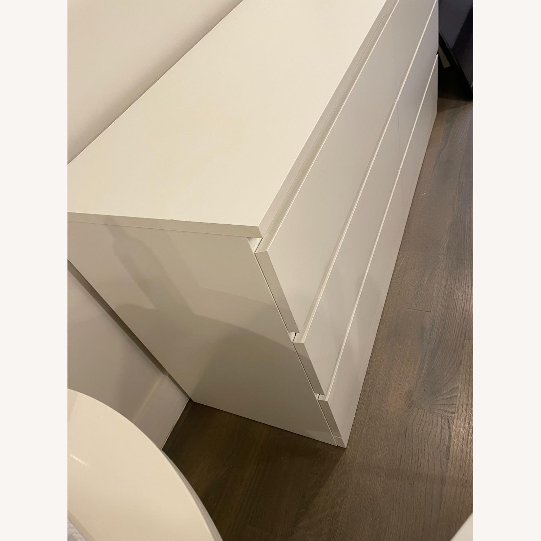 IKEA White 6 Drawer Dresser - image-2