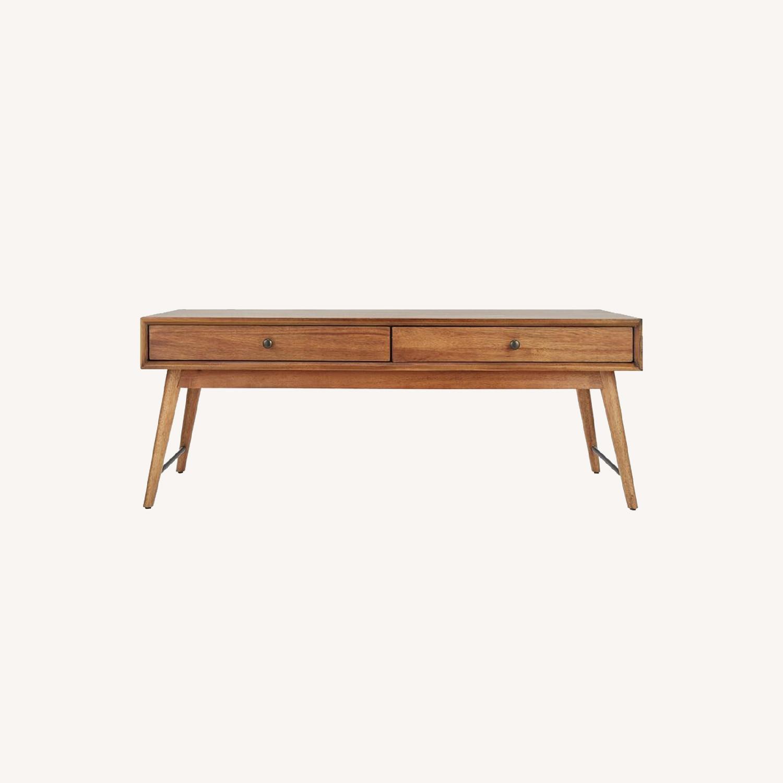 Mercury Row Andersen Coffee Table with Storage - image-0