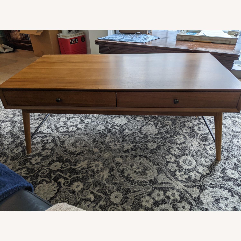 Mercury Row Andersen Coffee Table with Storage - image-1