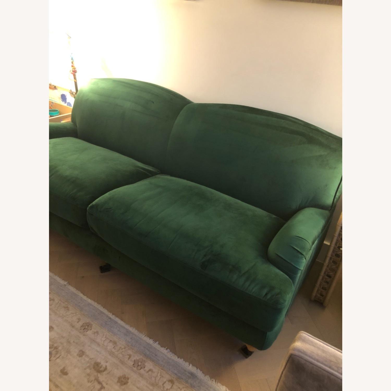 Interior Define Performance Velvet Couch - image-2