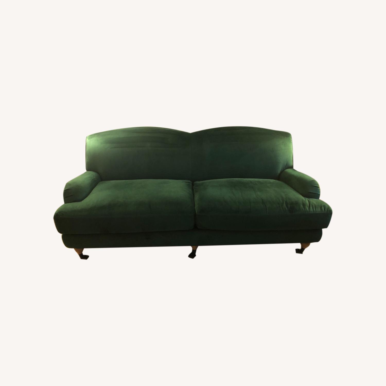 Interior Define Performance Velvet Couch - image-0