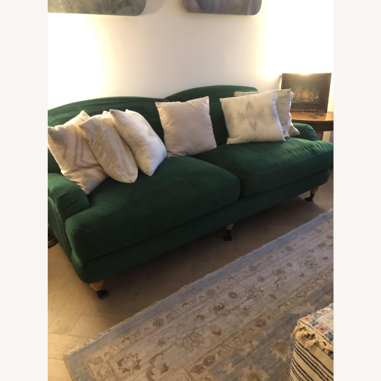 Interior Define Performance Velvet Couch - image-3
