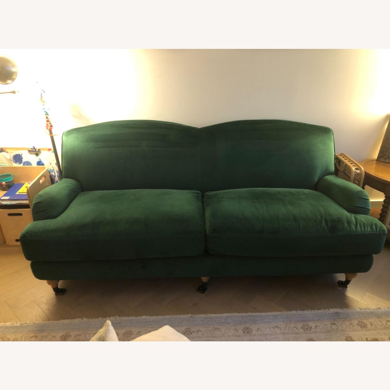 Interior Define Performance Velvet Couch - image-1