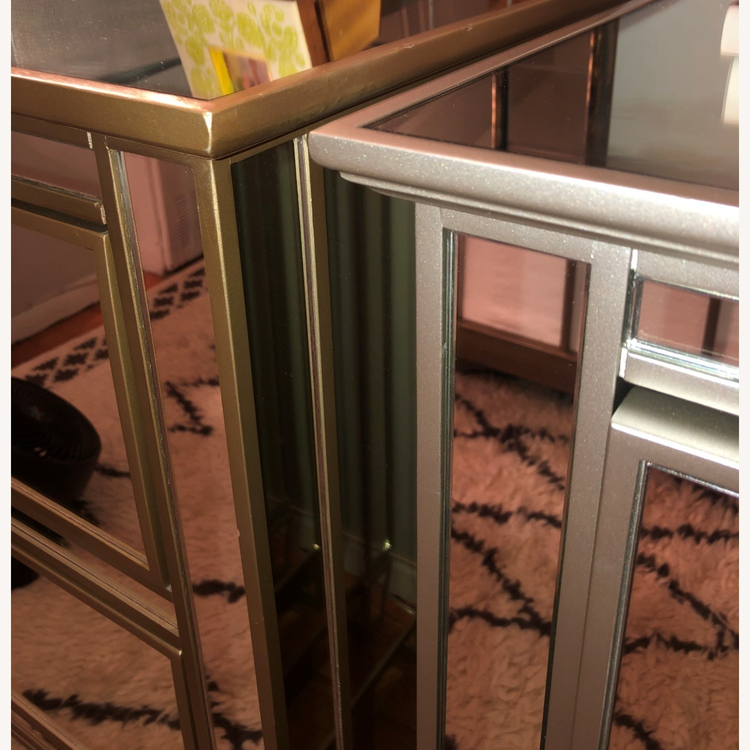 Pottery Barn Parker Mirrored Dressers - image-4