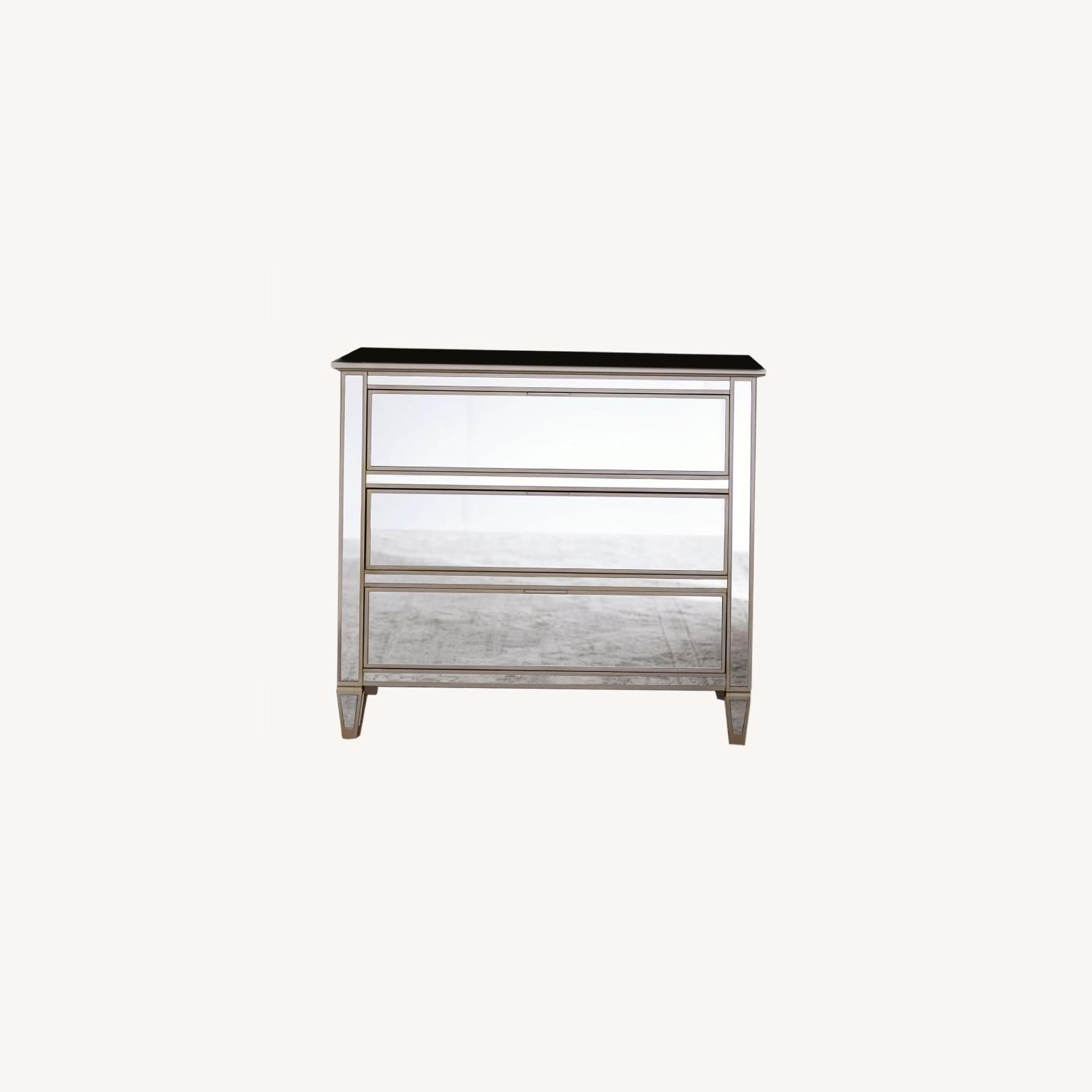 Pottery Barn Parker Mirrored Dressers - image-0
