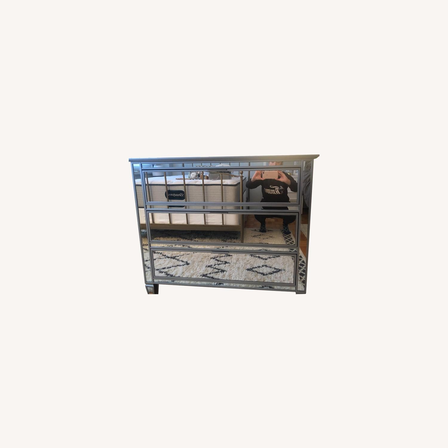 Pottery Barn Parker Mirrored Dressers - image-5
