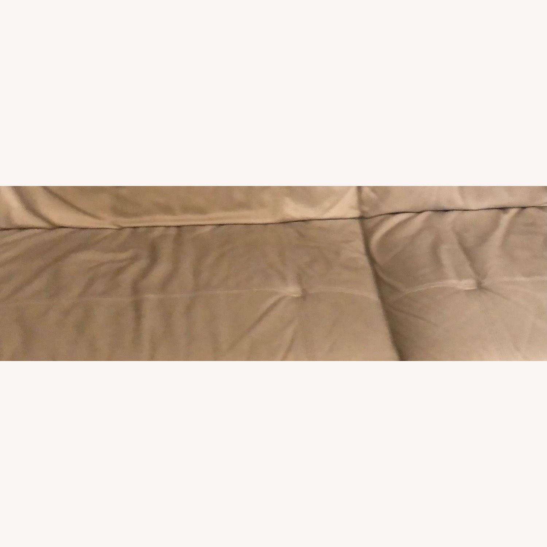"Kaleb 84"" Tufted Leather Sofa - image-4"