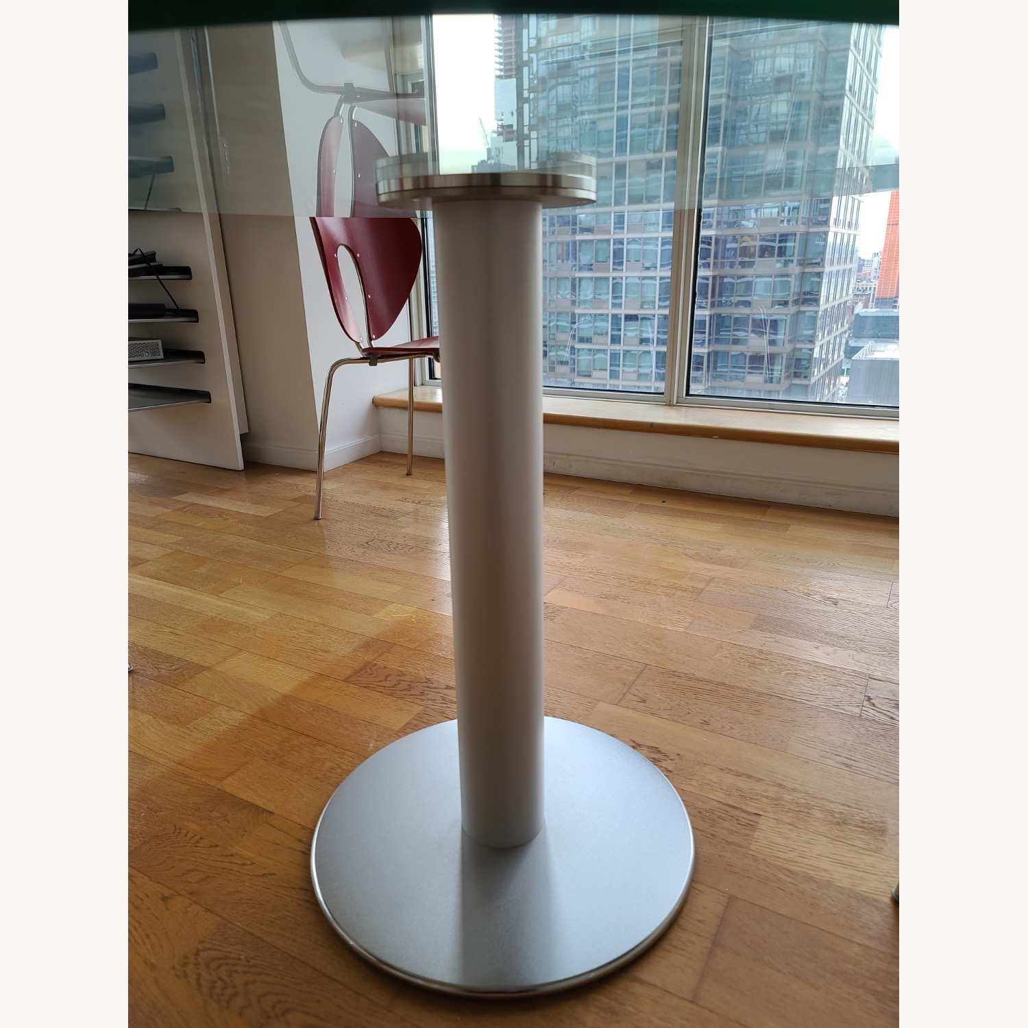 Design Within Reach Round Glass Table - image-5