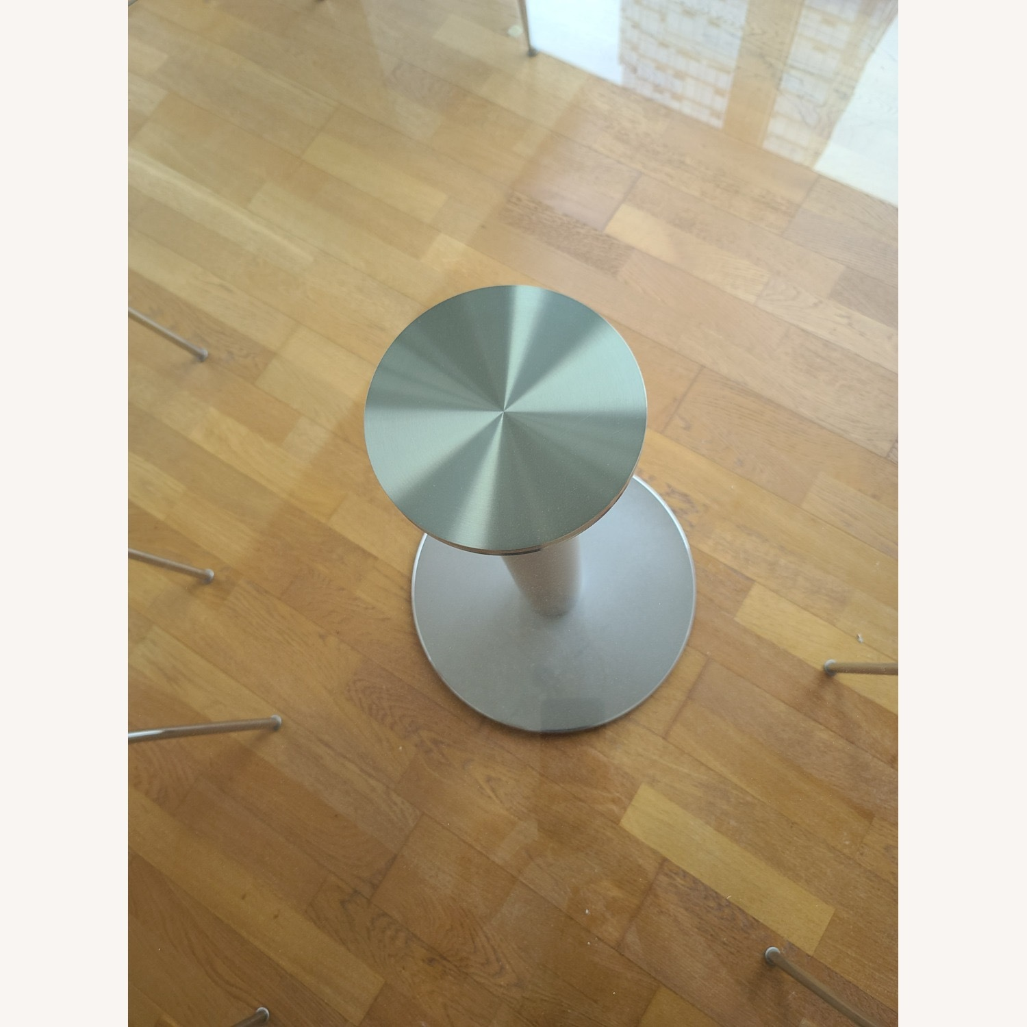 Design Within Reach Round Glass Table - image-1