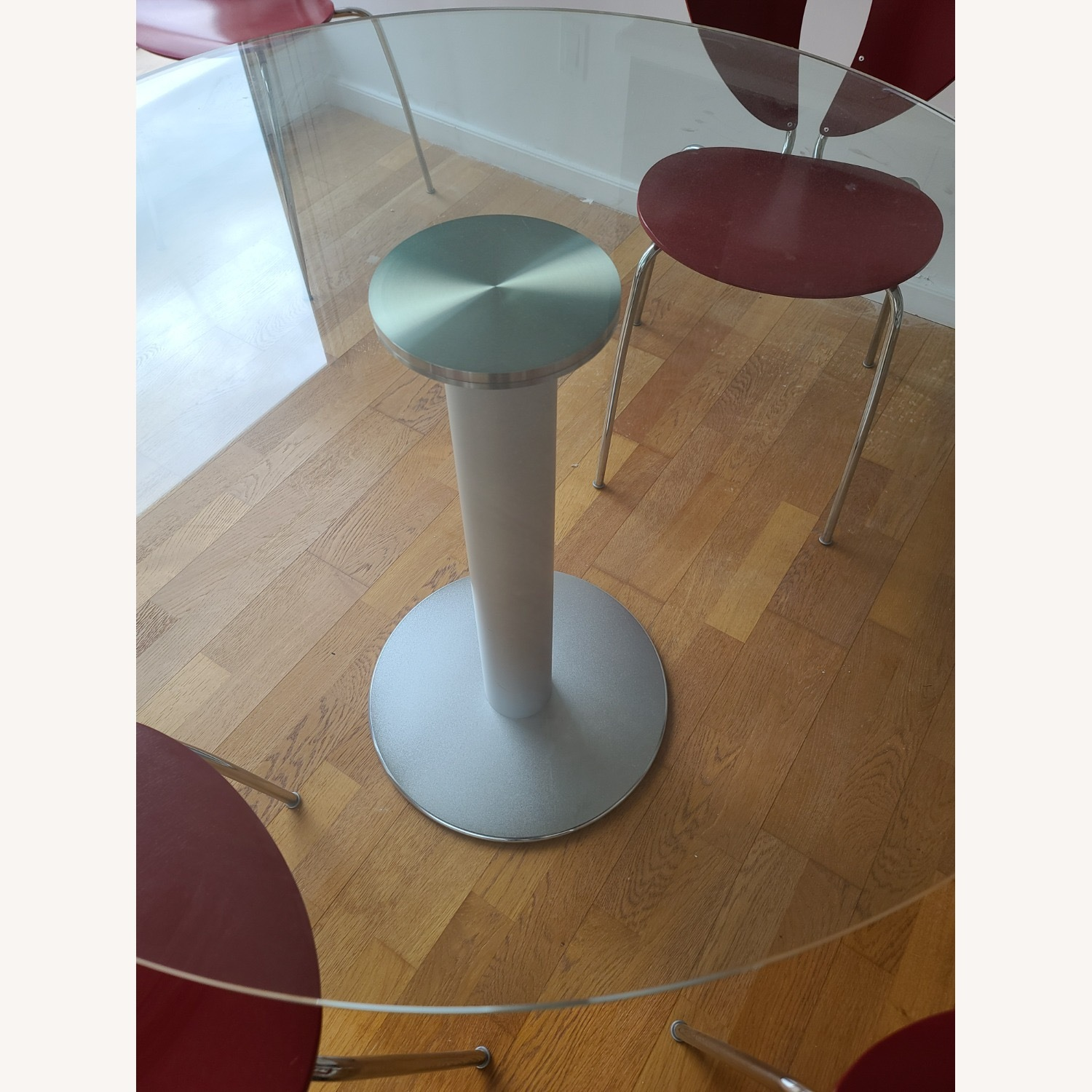 Design Within Reach Round Glass Table - image-4