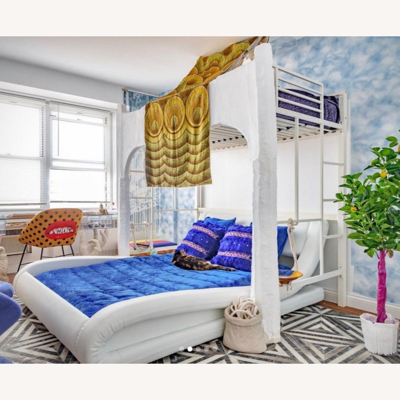 Wade Logan Soothing Futuristic Platform Bed, White - image-3