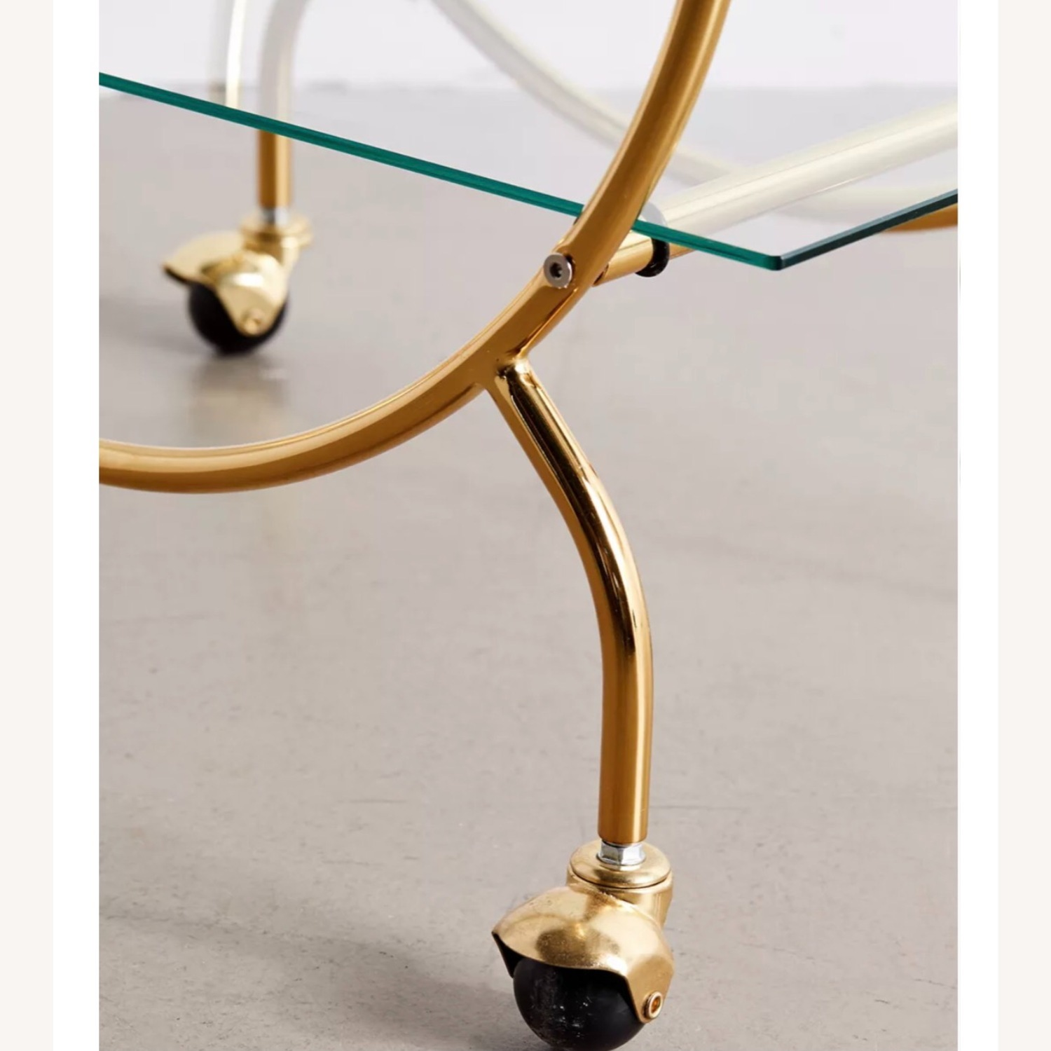 Urban Outfitters Gold Bar Cart - image-3