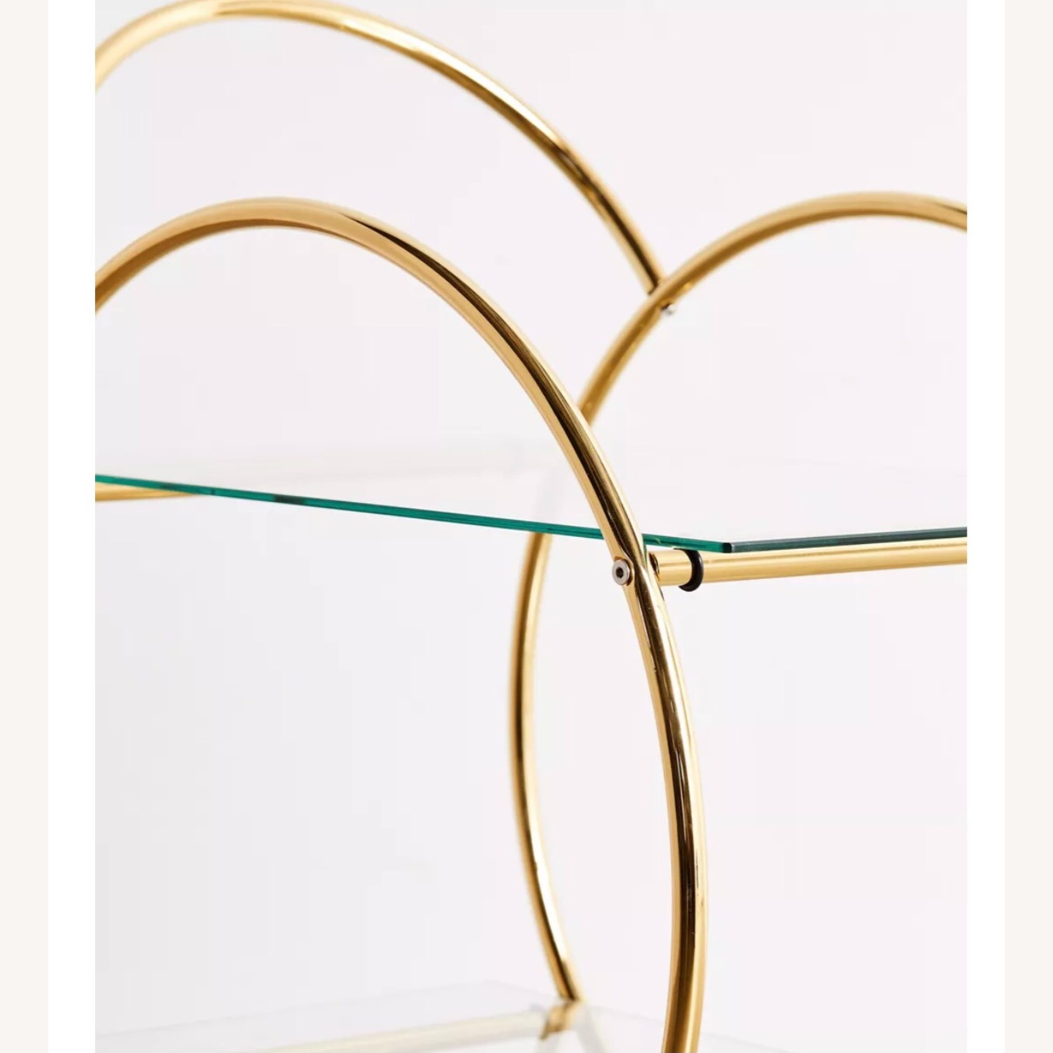 Urban Outfitters Gold Bar Cart - image-4