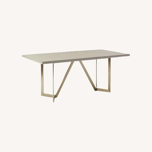 Used West Elm Tower Concrete Table for sale on AptDeco