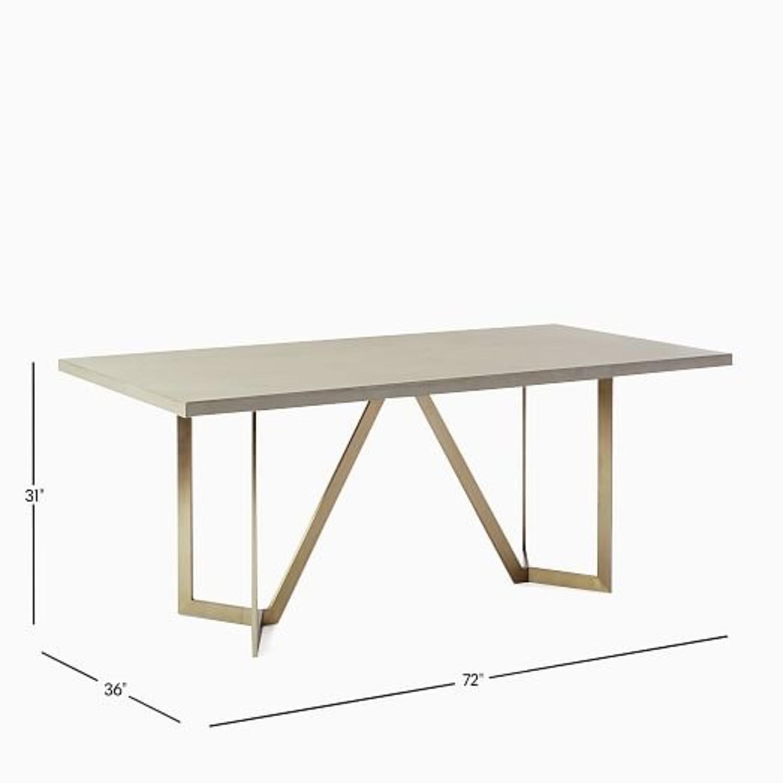 West Elm Tower Concrete Table - image-1